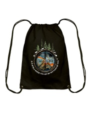 In A World Where You Can Be A0025 Drawstring Bag thumbnail