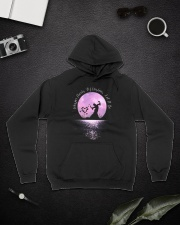 Whisper Words Of Wisdom D0328 Hooded Sweatshirt lifestyle-unisex-hoodie-front-9