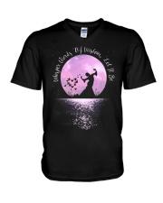 Whisper Words Of Wisdom D0328 V-Neck T-Shirt thumbnail