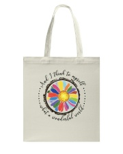 And I Think To Myself D0655 Tote Bag thumbnail
