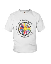 And I Think To Myself D0655 Youth T-Shirt thumbnail