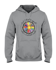 And I Think To Myself D0655 Hooded Sweatshirt front
