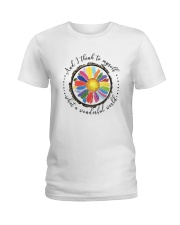 And I Think To Myself D0655 Ladies T-Shirt thumbnail