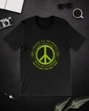 Imagine Living Life In Peace D01280 Classic T-Shirt lifestyle-mens-crewneck-front-16