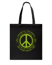 Imagine Living Life In Peace D01280 Tote Bag tile