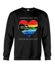 I Wanna Love You D0957 Crewneck Sweatshirt thumbnail