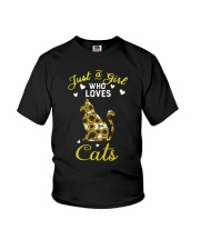 Just A Girl Who Love Cats CA0025 Youth T-Shirt thumbnail