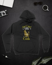 Just A Girl Who Love Cats CA0025 Hooded Sweatshirt lifestyle-unisex-hoodie-front-9