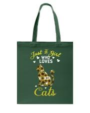 Just A Girl Who Love Cats CA0025 Tote Bag thumbnail