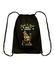 Just A Girl Who Love Cats CA0025 Drawstring Bag thumbnail