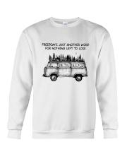Freedom's Just Another Word Crewneck Sweatshirt thumbnail