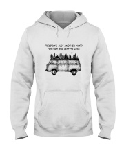 Freedom's Just Another Word Hooded Sweatshirt front