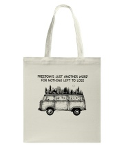 Freedom's Just Another Word Tote Bag thumbnail