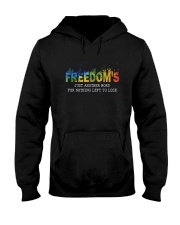 Freedom's Just Another Word D0944 Hooded Sweatshirt front