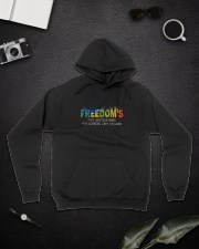 Freedom's Just Another Word D0944 Hooded Sweatshirt lifestyle-unisex-hoodie-front-9