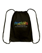 Freedom's Just Another Word D0944 Drawstring Bag thumbnail
