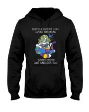 She's A Hippie Girl D0991 Hooded Sweatshirt thumbnail