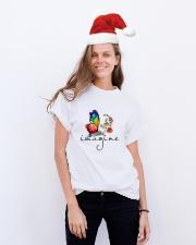 Imagine D01124 Classic T-Shirt lifestyle-holiday-crewneck-front-1
