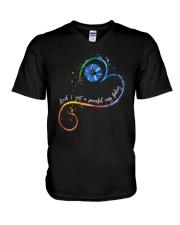 Peaceful Easy Feeling D0731 V-Neck T-Shirt thumbnail