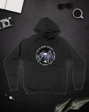 On A Dark Desert Highway Cool Wind In My Hair Hooded Sweatshirt lifestyle-unisex-hoodie-front-9