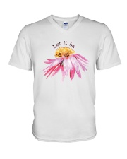 Let It Be D0692 V-Neck T-Shirt thumbnail