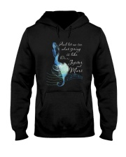 And Let Me See What Spring D0845 Hooded Sweatshirt front