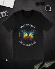 And I Think To Myself D01021 Classic T-Shirt lifestyle-mens-crewneck-front-16