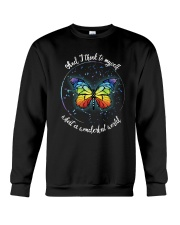 And I Think To Myself D01021 Crewneck Sweatshirt thumbnail