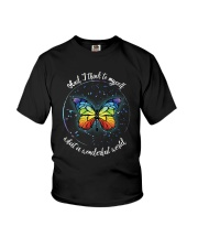 And I Think To Myself D01021 Youth T-Shirt thumbnail