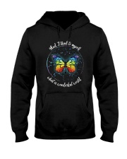 And I Think To Myself D01021 Hooded Sweatshirt thumbnail