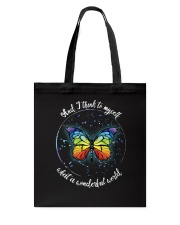 And I Think To Myself D01021 Tote Bag thumbnail