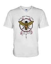 Stay Wild Flower Child D0773 V-Neck T-Shirt thumbnail