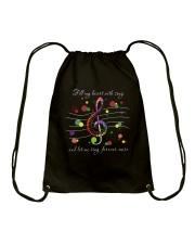 Fill My Heart With Song D0869 Drawstring Bag thumbnail