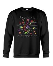 Fill My Heart With Song D0869 Crewneck Sweatshirt thumbnail