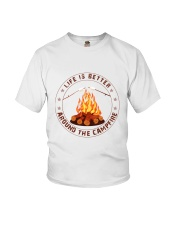 Life Is Better Around The Campfire Youth T-Shirt thumbnail