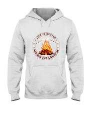 Life Is Better Around The Campfire Hooded Sweatshirt thumbnail