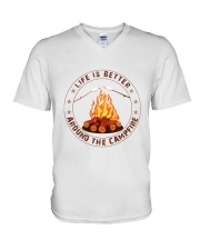 Life Is Better Around The Campfire V-Neck T-Shirt thumbnail