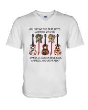 Give Me The Beat Boys D01152 V-Neck T-Shirt thumbnail