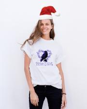 Blackbird Singing D01090 Classic T-Shirt lifestyle-holiday-crewneck-front-1