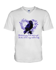 Blackbird Singing D01090 V-Neck T-Shirt thumbnail