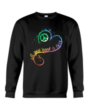 All You Need Is Love A0017  Crewneck Sweatshirt thumbnail