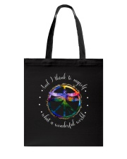And I Think To Myself D01110 Tote Bag thumbnail