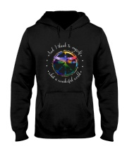 And I Think To Myself D01110 Hooded Sweatshirt thumbnail
