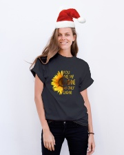 You Are My Sun Shine D01062 Classic T-Shirt lifestyle-holiday-crewneck-front-1