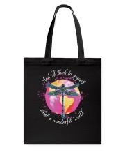 And I Think To Myself D01029 Tote Bag thumbnail