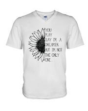 You May Say I'm A Dreamer A0123 V-Neck T-Shirt thumbnail