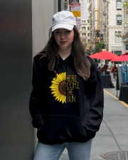Here Come The Sun A0110 Hooded Sweatshirt lifestyle-unisex-hoodie-front-5