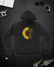 Here Come The Sun A0110 Hooded Sweatshirt lifestyle-unisex-hoodie-front-9