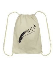 Take These Broken Wings A0191 Drawstring Bag thumbnail