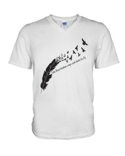 Take These Broken Wings A0191 V-Neck T-Shirt thumbnail